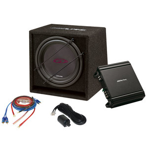 Kit subwoofer e amplificatore