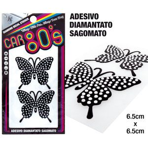 Adesivi diamantati Butterfly