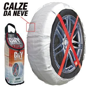 Calze da neve in tessuto City Snow Chains