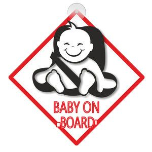 Targhetta Baby on board
