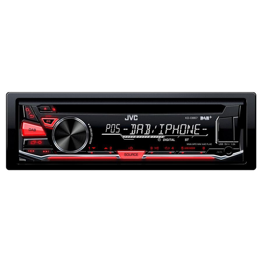 jvc autoradio din singolo kd-db67