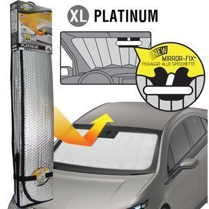 Parasole per parabrezza Platinum Mirror-fix