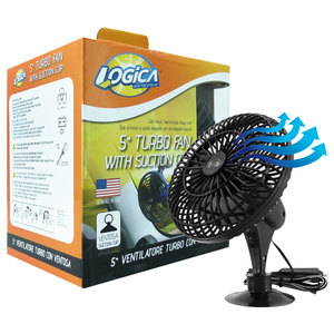 Ventilatore Turbo fan con ventosa