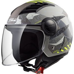 Casco Jet Aperto OF562 Airflow Camo