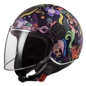 Casco Jet Demi Jet OF558 Sphere Lux Bloom