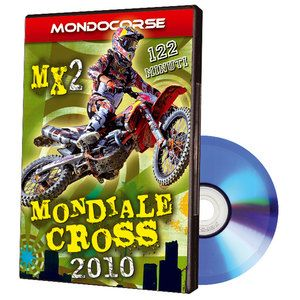 Dvd Mondiale Cross MX2 2010