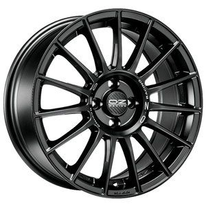 Cerchio in lega Superturismo Matt Black