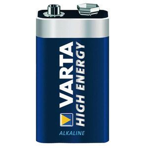 Batteria alcalina High Energy 9V