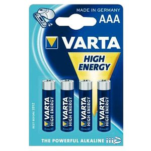 Batteria alcalina High Energy AAA