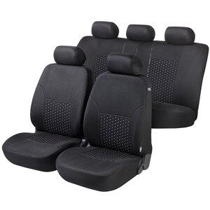Sitzbezüge Schonbezüge SET ACC Ford Transit Stoff schwarz