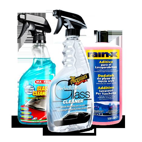 Prodotti pulizia Vetri Auto