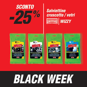Salviette cruscotto e vetri -25%