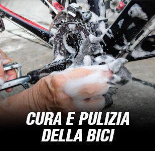 Cura e pulizia della bici