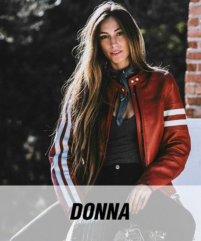 Abbigliamento donna moto