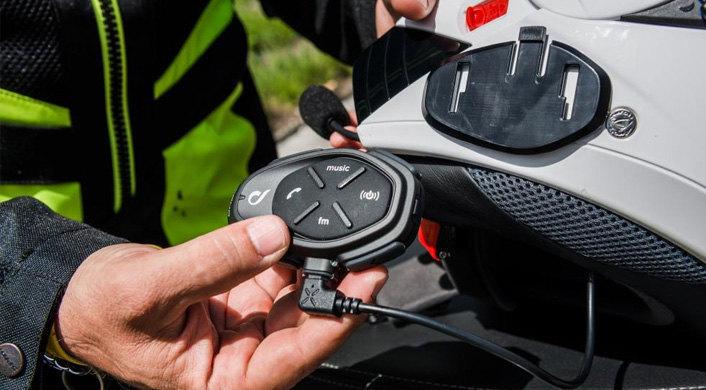 Installazione interfono moto