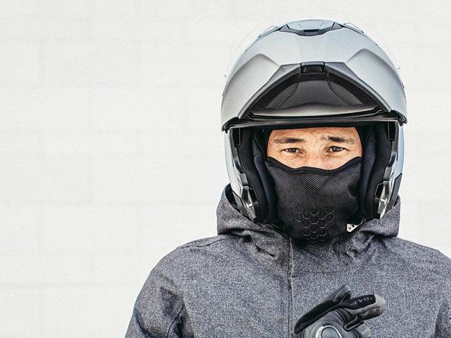 Lo scalda collo per moto