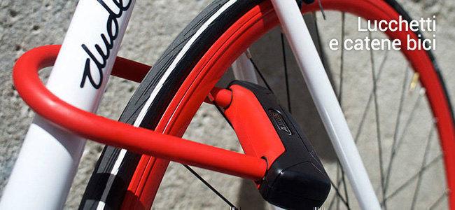 Lucchetti antifurto per la bici