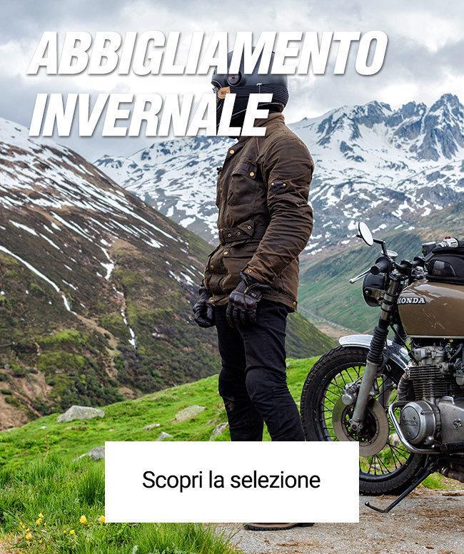 Abbigliamento invernale moto