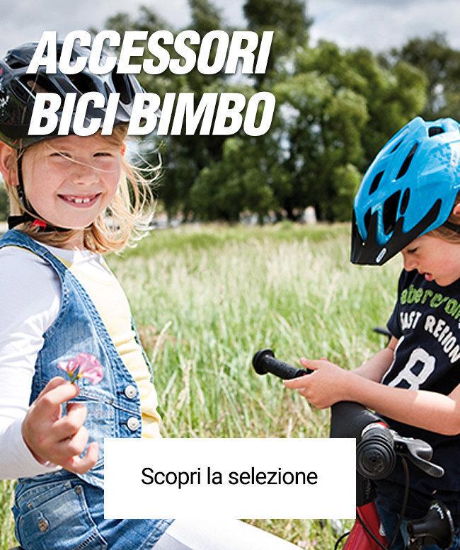 Gli accessori bici per il bimbo