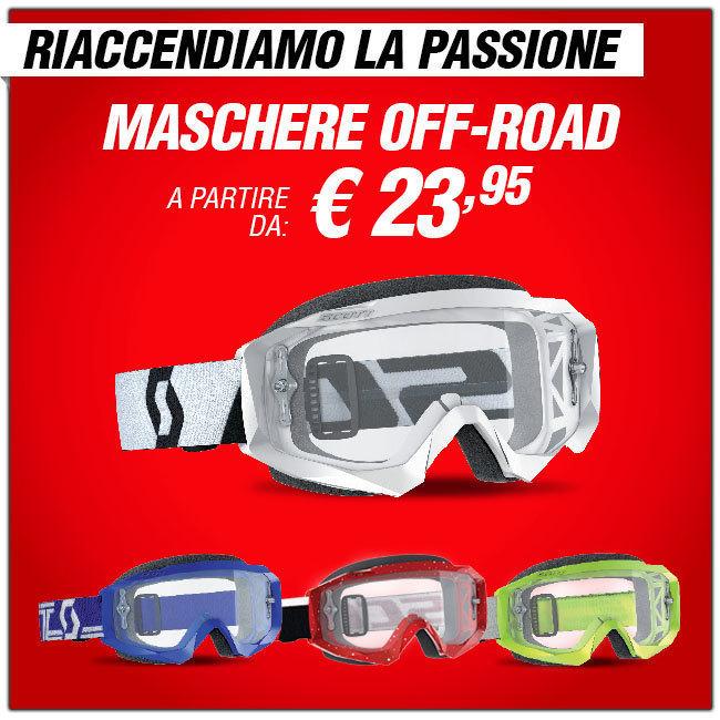 Maschere moto off-road