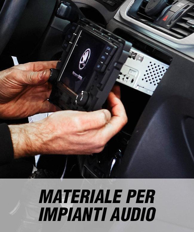 Materiali per impianti audio