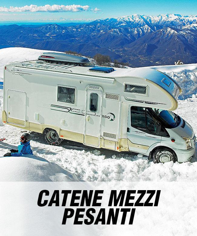 Catene da neve per camper camion e furgoni