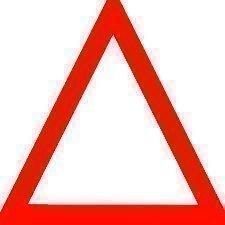 Triangolo emergenza auto